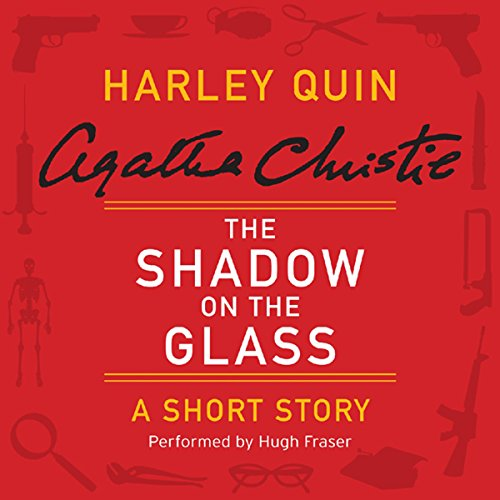 The Shadow on the Glass audiobook cover art