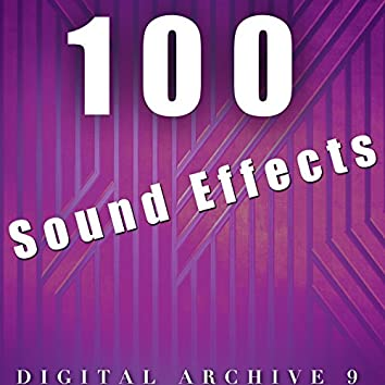 100 Sound Effects Digital Archive 9