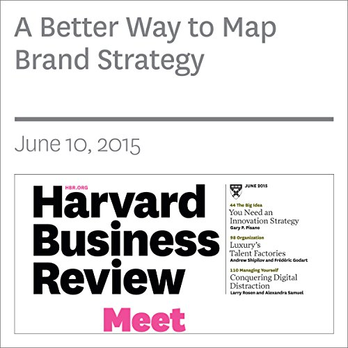 A Better Way to Map Brand Strategy copertina