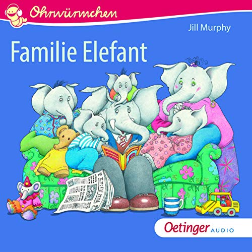Familie Elefant audiobook cover art