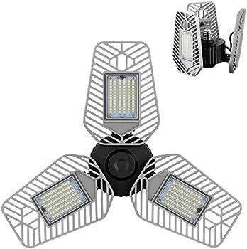 LZHome 82W CRI 9000 Lumens 80 LED Garage Light
