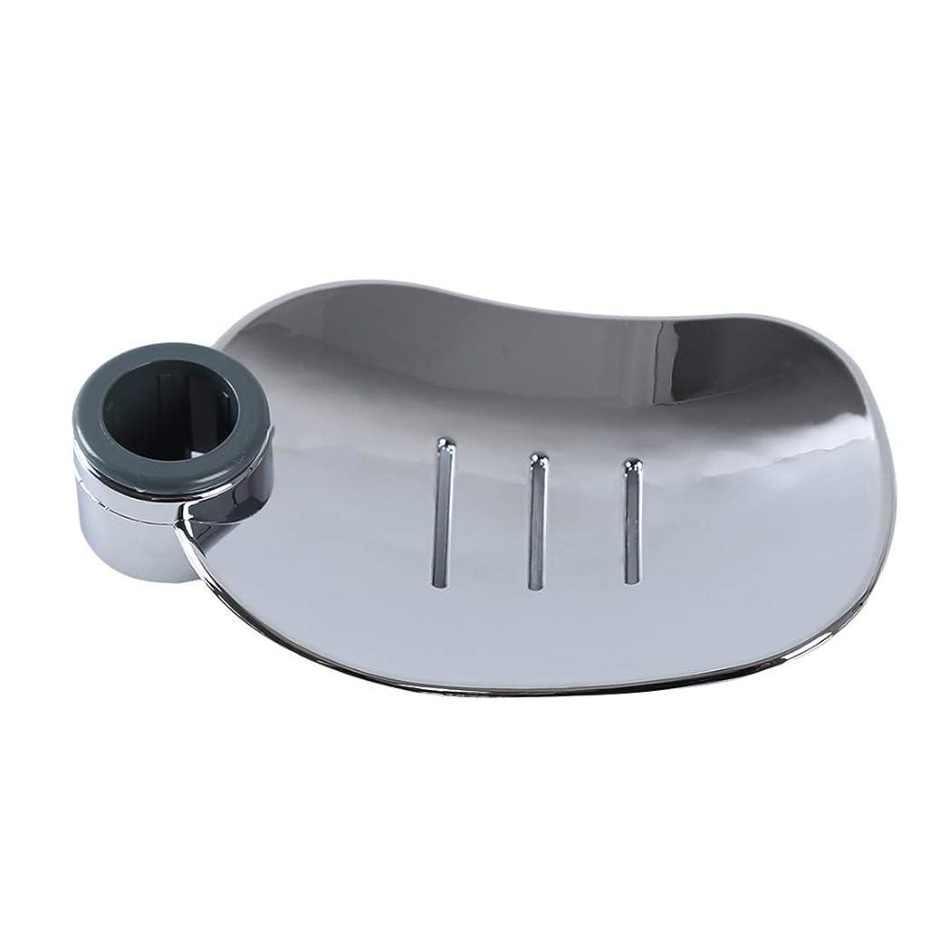 クランプスクラップ最近KLUMA スポンジ置き 昇降式 水切りタイプ 高さ調節可 シンク収納 ソープディッシュ 石鹸ケース キッチン用水栓 浴室用ラック 穴サイズ24mm