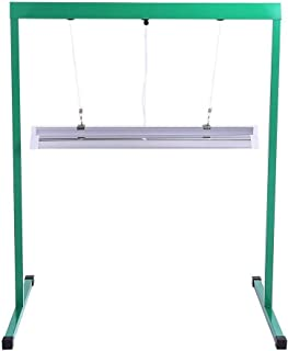 iPower 24W 2 Feet T5 Fluorescent Grow Light Stand Rack for Seed Starting Plant Growing, 6400K