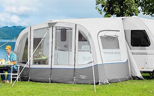Berger Reisevorzelt Arona Alu Vorzelt Camping Zelt Wohnwagen Teilvorzelt Moskitogaze Campingzelt