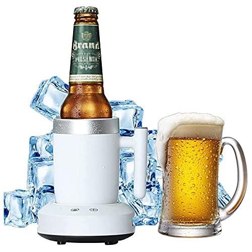 ESGT Smart Beverage Cool, Taza De Enfriamiento Eléctrico De Enfriamiento Rápido, Mini Refrigerador De Escritorio para Vino Cola para El Hogar Oficina Y Cuidado Personal De La Salud