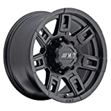 Mickey Thompson Sidebiter II Wheel with Satin Black Finish (17x9'/5x5') -12 millimeters offset