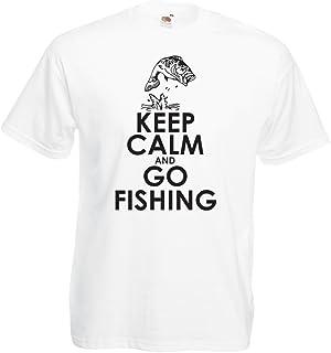Fladen T-shirt 100//% coton Motif p/êche poisson avec leurre