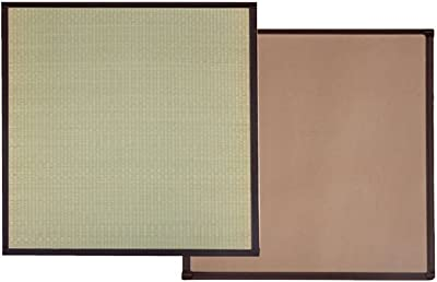 イケヒコ い草 置き畳 ユニット畳 国産 半畳 12枚セット かるピタ 約82×82cm 12枚組 #8905050