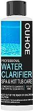 YAQIAN Limpiador químico removedor de espuma, limpia y elimina profundamente aceites, grasa y minerales para el tratamiento de agua de la piscina y el spa