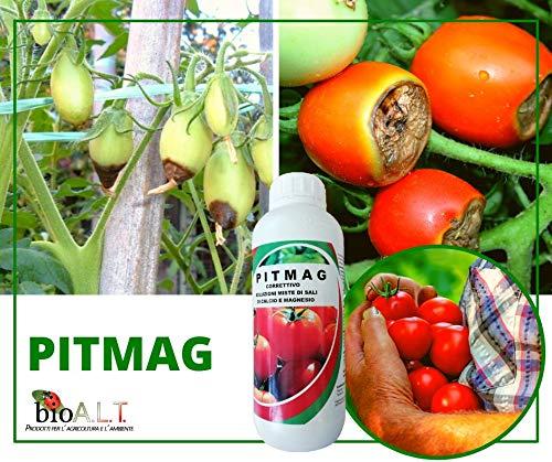 bio A.L.T Pitmag Concime specifico per prevenire Il Marciume Apicale del Pomodoro Fertilizzante Ottimo per Piante con Mancanza di Calcio