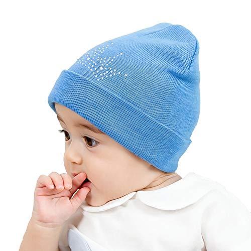 XCC-Children Hat Gorro De Lana para Bebé, Gorro De Punto Cálido De Invierno para Bebés Recién Nacidos De Lana para Niños Pequeños, Gorro De Invierno Cálido(Color:Segundo)