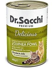 Dr.Sacchi Konserve Kedi Maması Av Hayvanlı 400Gr