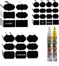 Pantry Labels 185 Stickers Food Pantry Chalkboard Label Sticker for Kitchen Organization Storage Food Jar Container Label