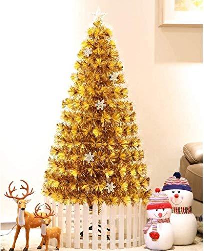 Pine Tree Snow Flocked ED para Interior y Exterior Decoración navideña Luces de árboles Artificiales Alambre Adornos flocados Invisibles Suministros de Navidad para el hogar Árboles Artificiales Sopo