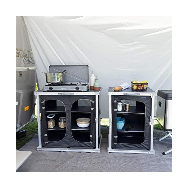 Campart Travel Camping Cupboard Bordeaux