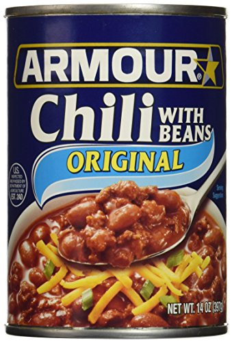 Armour Star Chili With Beans, 14 oz. (Pack of 12)