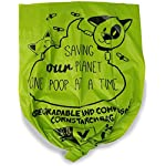 ZPAW Compostable and Biodegradable Dog Poop Bags Made with Corn Starch | Large Environmentally Friendly Dog Waste Bags Certified 100% Compostable and Biodegradable (160 Pet Waste Bags) 10