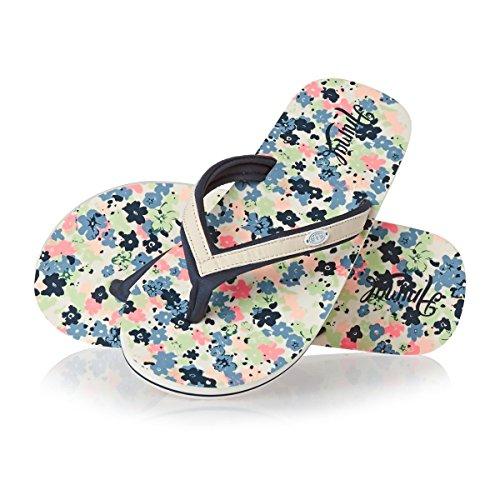 Animal Swish Slim AOP Womens Sandals UK 5 Cream