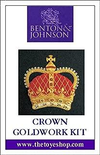 Crown - Goldwork Kit by Benton & Johnson