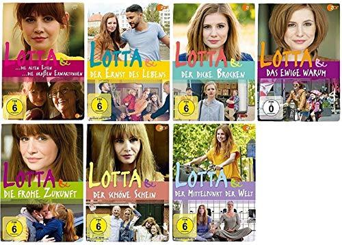 Lotta & der Ernst des Lebens + Lotta & der Mittelpunkt der Welt ... 7 Filme Paket [Josefine Preuß DVD Set]