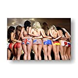 Adult 1000 Piece Jigsaw Puzzle Naked Beauty DIY Kit Wooden Puzzle Modern Home Decor Boys Girls Unique Gift Stress Reliever