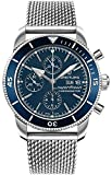 Breitling Superocean Heritage II Chronograph 44 blaues Zifferblatt Herrenuhr A13313161C1A1