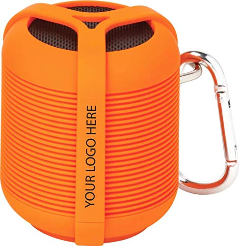 RoxBox Cyclone Bluetooth Speaker - Orange ST - 12 Quantity - $50.42 Each - Promotional Product/Bulk/with Your Customized Branding