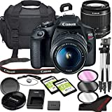 Canon EOS Rebel T7 DSLR Camera Bundle with 18-55mm Lens | Built-in Wi-Fi|24.1 MP CMOS Sensor | |DIGIC 4+ Image Processor and Full HD Videos + 64GB Memory(17pcs)