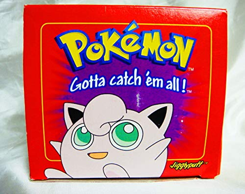 JIGGLYPUFF #39 - MIB Pokemon Burger King Gold Card - Red