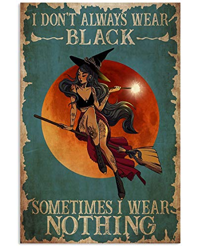 Sexy Wizard and Witches Vertical Poster - Art Wall Decor Poster No Frame, Wall Print, Wall Decoration, Signs for Home (12'' x 18'')