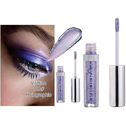 Coloré(TM) Palettes de maquillage Magnificent Metals Glitter et Glow Ombre à paupières liquide (I)
