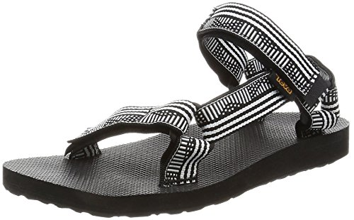 Teva Women's W Original Universal Sandal, Campo Black/White, 6 M US