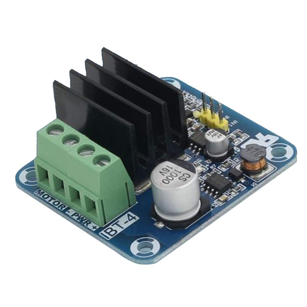 LOVIVER Max 54% OFF IBT-4 Mosfet High Current Complete Free Shipping Bridge H Dri Driver,Motor