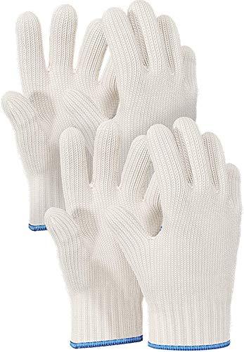 Killer's Instinct Outdoors 2 Pairs Heat Resistant Gloves Oven Gloves Heat Resistant With Fingers Oven Mitts Kitchen Pot Holders Cotton Gloves Kitchen Gloves Double Oven Mitt Set