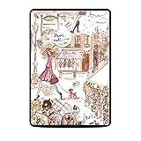 DecalGirl Skin per Kindle Paperwhite - Paris Makes Me Happy [compatibile con Kindle Paperwhite (5ª e 6ª generazione)]