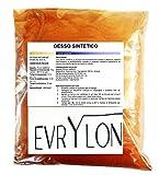EVRYLON Yeso sintético no tóxico ladrillo moldeable Extra Duro de Alta definición 1 kg
