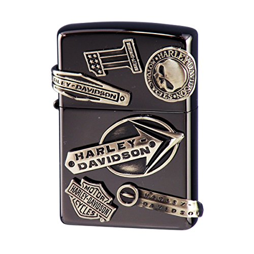 ジッポー ライター ハーレーダビッドソン HARLEY DAVIDSON オイルライター zippo ジッポライター HDP-62 メイクメタル バイク好き 彼氏 男性 メンズ 喫煙具 ブランド