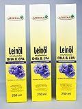 frisches Leinöl mit DHA+EPA