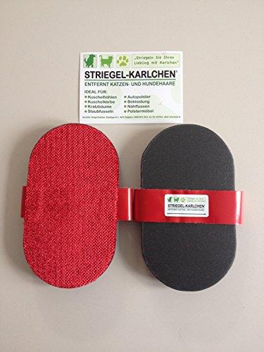 2 Stück - Striegel-Karlchen Striegelkarlchen - Tierhaarentferner