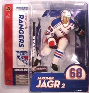 McFarlane Toys NHL Sports Picks Series 10 Action Figure Jaromir Jagr (New York Rangers) White Jersey Variant