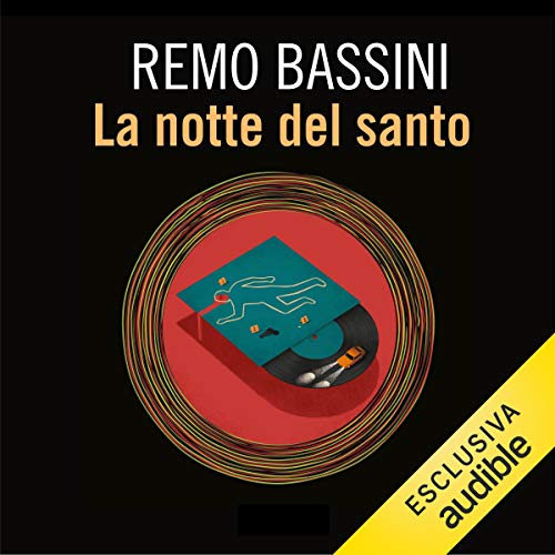 La notte del santo audiobook cover art