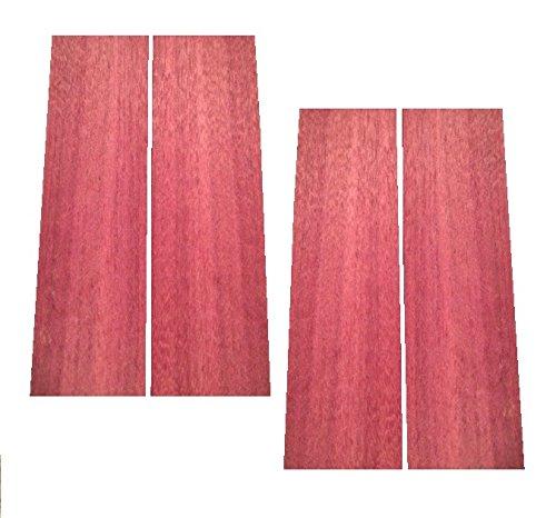 Purpleheart Lumber 3/4'x2'x12' - 4 Pack