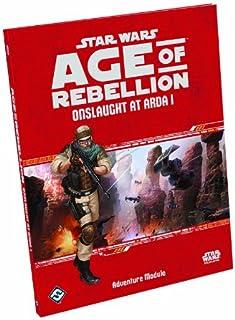 Fantasy Flight Games SWA04 Age of Rebellion: Onslaught at Arda I Board Game