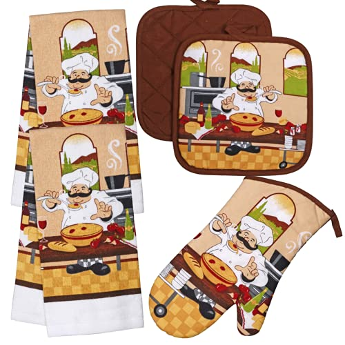 Top 10 Best Selling List for big lots chef kitchen decor and towels and curtains