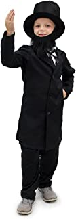 Honest Abe Lincoln Boys Halloween Costume President Patriotic Dress Up Role Play