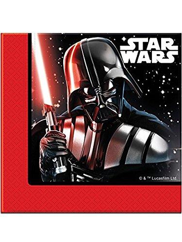 Procos 53869 Papierservietten, Star Wars Final Battle, 33 cm x 33 cm