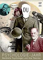 Psychologie-Jahr (Wandkalender 2021 DIN A3 hoch): Beruehmte Psychologen und ihre Theorien (Monatskalender, 14 Seiten )