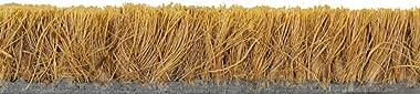 ID Mat Tapis Paillasson, Fibres Coco Naturelles sur Semelle PVC, Beige, 60 X 40 cm