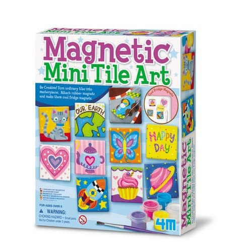 Childrens Crafts Artbox Colour Your Own Magnets Circus Theme 10 Magnets