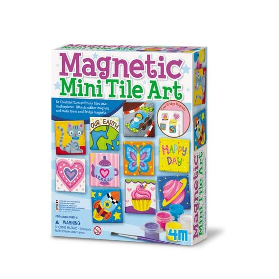 4M-Magnetic-Mini-Tile-Art-DIY-Paint-Arts-Crafts-Magnet-Kit-for-Kids-Fridge-Locker-Party-Favors-Craft-Project-Gifts-for-Boys-Girls